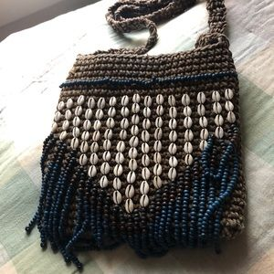 Earthbound bead purse